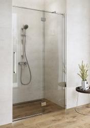 Sprchové dveře s panty CREA 100x200, levé, čiré sklo (S159-001), fotografie 6/7