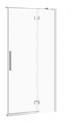 CERSANIT - Sprchové dveře s panty CREA 100x200, pravé, čiré sklo (S159-002)
