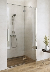 Sprchové dveře s panty CREA 120x200, levé, čiré sklo (S159-003), fotografie 10/9