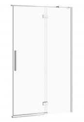 CERSANIT - Sprchové dveře s panty CREA 120x200, pravé, čiré sklo (S159-004)