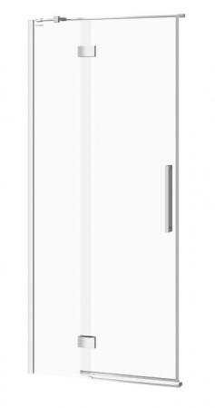 Sprchové dveře s panty CREA 90x200, levé, čiré sklo (S159-005)