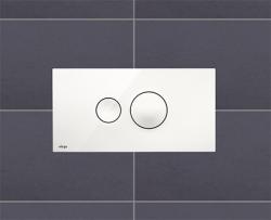 VIEGA  s.r.o. - Viega Visign for Style10 bílá čelní ovl.deska  596316 (V 596316)