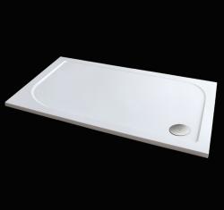 Aquatek - Hard 120x80 sprchová vanička z litého mramoru, doplňky čelní krycí panel (HARD12080-23)