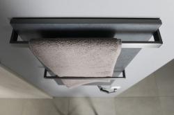 SAPHO - ELMIS elektrický sušák ručníků 400x800mm, 100W, antracit (EB410), fotografie 6/4