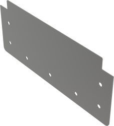 Alcaplast Čelo pro krabicový žlab AISI 304 (APR1-P109)