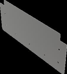 Alcaplast Čelo pro krabicový žlab AISI 316L (APR1-P010)