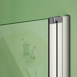 H K - Obdélníkový sprchový kout MELODY 110x90 cm se zalamovacími dveřmi , výplň sklo - grape (SE-MELODYB811090-19), fotografie 20/10
