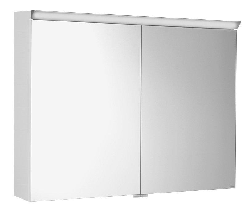 SAPHO TOBI galerka s LED osvětlením, 80x63x17cm, bílá TB080