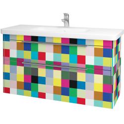 Dřevojas - Koupelnová skříň ENZO SZZ2 120 - IND Individual / IND Individual (52594)