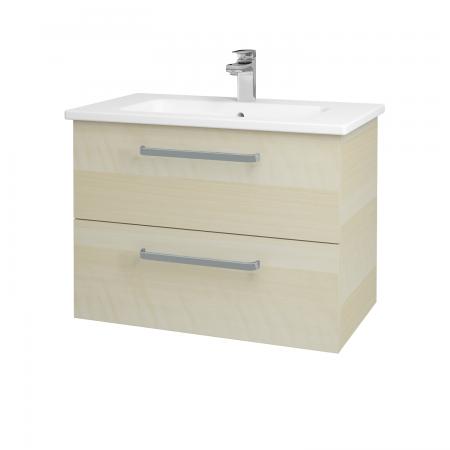 Dřevojas - Koupelnová skříň GIO SZZ2 80 - D02 Bříza / Úchytka T01 / D02 Bříza (82072A)