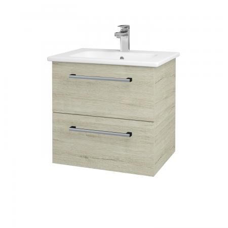 Dřevojas - Koupelnová skříň GIO SZZ2 60 - D05 Oregon / Úchytka T03 / D05 Oregon (82904C)