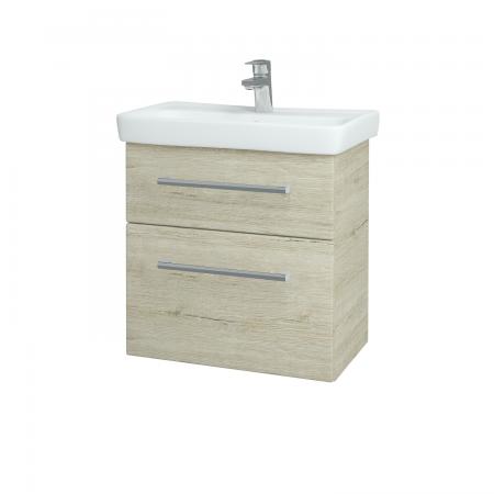 Dřevojas - Koupelnová skříň GO SZZ2 60 - D05 Oregon / Úchytka T03 / D05 Oregon (28148C)
