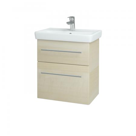 Dřevojas - Koupelnová skříň GO SZZ2 55 - D02 Bříza / Úchytka T02 / D02 Bříza (28162B)