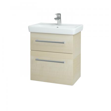 Dřevojas - Koupelnová skříň GO SZZ2 55 - D02 Bříza / Úchytka T03 / D02 Bříza (28162C)