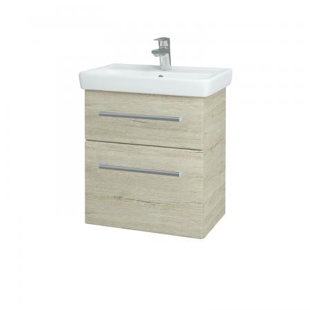 Dřevojas - Koupelnová skříň GO SZZ2 55 - D05 Oregon / Úchytka T03 / D05 Oregon (28131C)