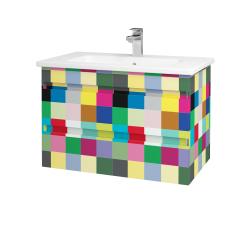 Dřevojas - Koupelnová skříň MAJESTY SZZ2 80 - IND Individual / IND Individual (83772)