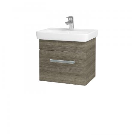 Dřevojas - Koupelnová skříň SOLO SZZ 50 - D03 Cafe / Úchytka T01 / D03 Cafe (21217A)