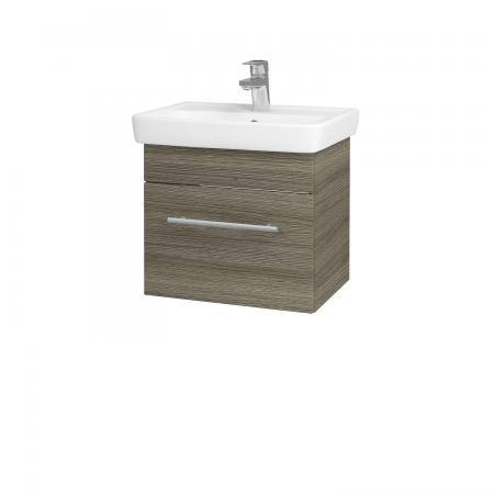 Dřevojas - Koupelnová skříň SOLO SZZ 50 - D03 Cafe / Úchytka T02 / D03 Cafe (21217B)