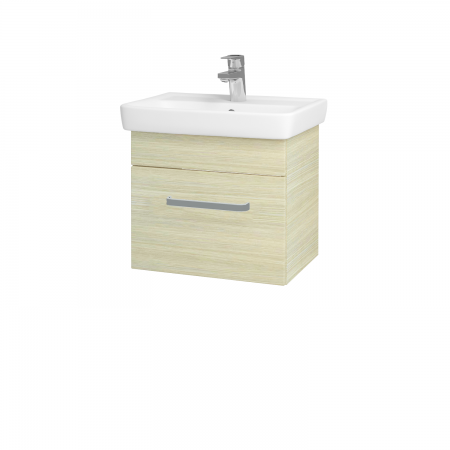 Dřevojas - Koupelnová skříň SOLO SZZ 50 - D04 Dub / Úchytka T01 / D04 Dub (21224A)
