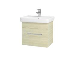 Dřevojas - Koupelnová skříň SOLO SZZ 50 - D04 Dub / Úchytka T03 / D04 Dub (21224C)