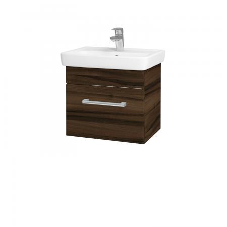 Dřevojas - Koupelnová skříň SOLO SZZ 50 - D06 Ořech / Úchytka T03 / D06 Ořech (21248C)