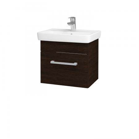 Dřevojas - Koupelnová skříň SOLO SZZ 50 - D08 Wenge / Úchytka T03 / D08 Wenge (21262C)