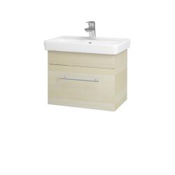 Dřevojas - Koupelnová skříň SOLO SZZ 55 - D02 Bříza / Úchytka T02 / D02 Bříza (21392B)