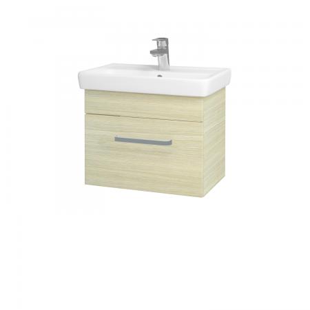 Dřevojas - Koupelnová skříň SOLO SZZ 55 - D04 Dub / Úchytka T01 / D04 Dub (21286A)