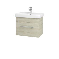 Dřevojas - Koupelnová skříň SOLO SZZ 55 - D05 Oregon / Úchytka T02 / D05 Oregon (21354B)