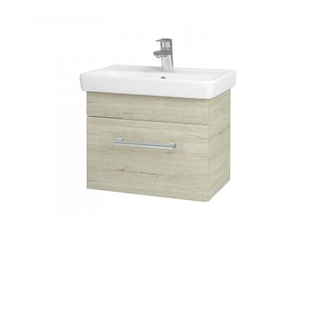 Dřevojas - Koupelnová skříň SOLO SZZ 55 - D05 Oregon / Úchytka T03 / D05 Oregon (21354C)