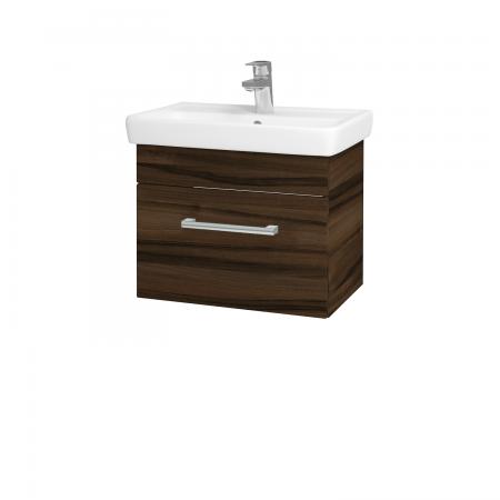 Dřevojas - Koupelnová skříň SOLO SZZ 55 - D06 Ořech / Úchytka T03 / D06 Ořech (21361C)