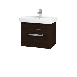 Dřevojas - Koupelnová skříň SOLO SZZ 55 - D08 Wenge / Úchytka T01 / D08 Wenge (21408A)