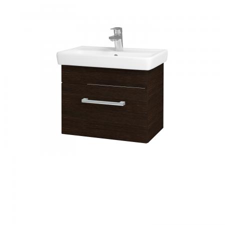 Dřevojas - Koupelnová skříň SOLO SZZ 55 - D08 Wenge / Úchytka T03 / D08 Wenge (21408C)