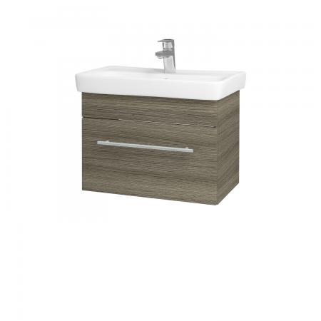Dřevojas - Koupelnová skříň SOLO SZZ 60 - D03 Cafe / Úchytka T02 / D03 Cafe (22115B)