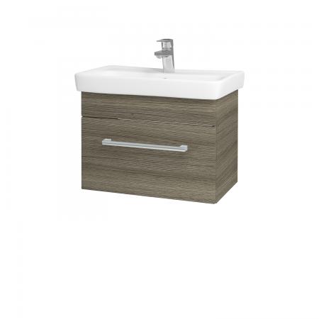 Dřevojas - Koupelnová skříň SOLO SZZ 60 - D03 Cafe / Úchytka T03 / D03 Cafe (22115C)