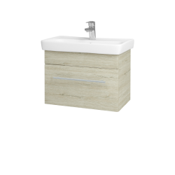 Dřevojas - Koupelnová skříň SOLO SZZ 60 - D05 Oregon / Úchytka T02 / D05 Oregon (22139B)
