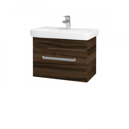 Dřevojas - Koupelnová skříň SOLO SZZ 60 - D06 Ořech / Úchytka T01 / D06 Ořech (22146A)