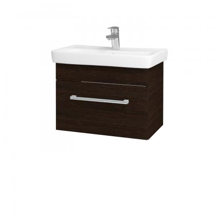 Dřevojas - Koupelnová skříň SOLO SZZ 60 - D08 Wenge / Úchytka T03 / D08 Wenge (22160C)