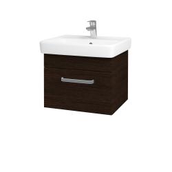 Dřevojas - Koupelnová skříň Q UNO SZZ 55 - D08 Wenge / Úchytka T01 / D08 Wenge (28261A)