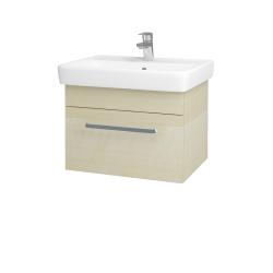 Dřevojas - Koupelnová skříň Q UNO SZZ 60 - D02 Bříza / Úchytka T01 / D02 Bříza (28384A)
