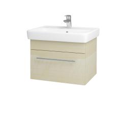 Dřevojas - Koupelnová skříň Q UNO SZZ 60 - D02 Bříza / Úchytka T02 / D02 Bříza (28384B)