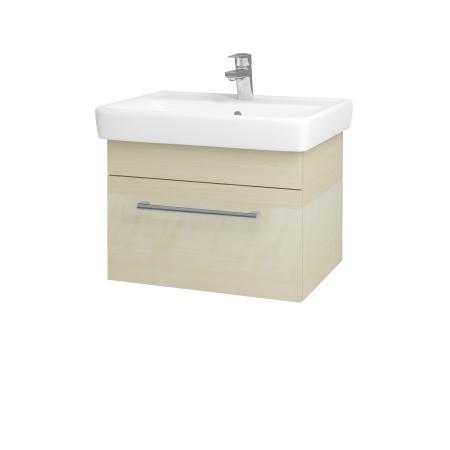 Dřevojas - Koupelnová skříň Q UNO SZZ 60 - D02 Bříza / Úchytka T03 / D02 Bříza (28384C)