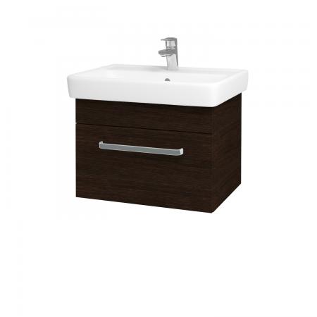 Dřevojas - Koupelnová skříň Q UNO SZZ 60 - D08 Wenge / Úchytka T01 / D08 Wenge (28391A)