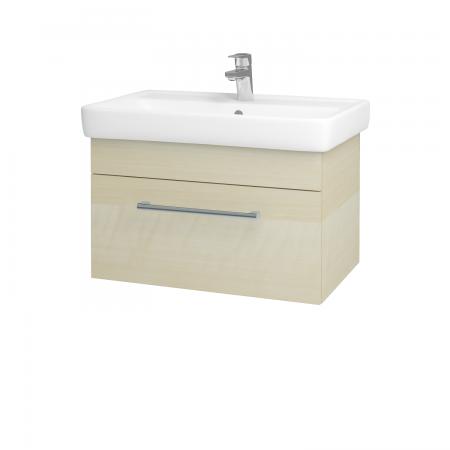 Dřevojas - Koupelnová skříň Q UNO SZZ 70 - D02 Bříza / Úchytka T03 / D02 Bříza (28445C)