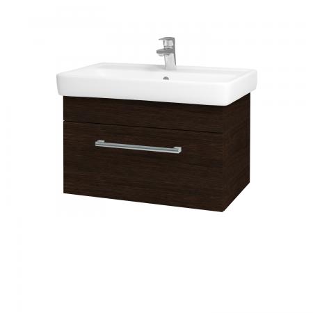 Dřevojas - Koupelnová skříň Q UNO SZZ 70 - D08 Wenge / Úchytka T03 / D08 Wenge (28452C)