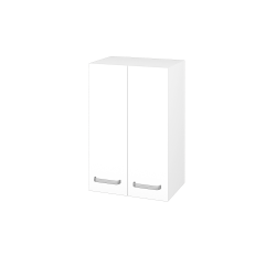 Dřevojas - Skříň horní DOS SYD2 50 - N01 Bílá lesk / Úchytka T01 / L01 Bílá vysoký lesk (65020A)
