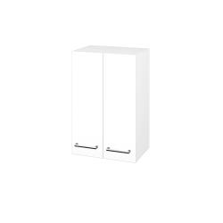 Dřevojas - Skříň horní DOS SYD2 50 - N01 Bílá lesk / Úchytka T03 / L01 Bílá vysoký lesk (65020C)