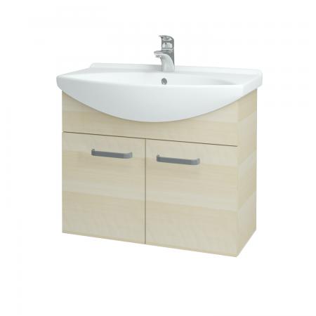 Dřevojas - Koupelnová skříň TAKE IT SZD2 75 - D02 Bříza / Úchytka T01 / D02 Bříza (133313A)