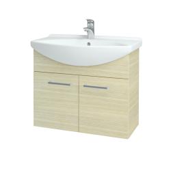 Dřevojas - Koupelnová skříň TAKE IT SZD2 75 - D04 Dub / Úchytka T03 / D04 Dub (133337C)