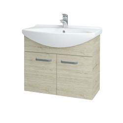 Dřevojas - Koupelnová skříň TAKE IT SZD2 75 - D05 Oregon / Úchytka T01 / D05 Oregon (133344A)